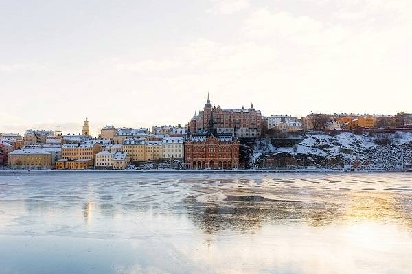 Christian Donnie GabeGottes liebe Stockholm im Winter