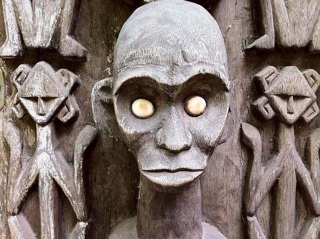 Voodoo uralte afrikanische Naturreligion